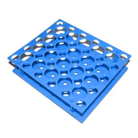 Estantes para Tubos Falcon - 30 Tubos de 15ml e 20 de 50ml - Azul