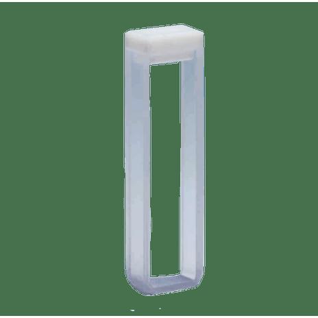 Cubeta em Quartzo ES 2 Faces Polidas Passo 5MM 1,7ml - Fundo Arredondado