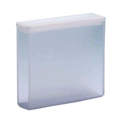 Cubeta em Quartzo ES 2 Faces Polidas Passo 50MM 17,5ml - Fundo Arredondado