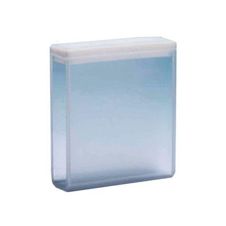 Cubeta em Quartzo ES 2 Faces Polidas Passo 40MM 14ml - Fundo Arredondado