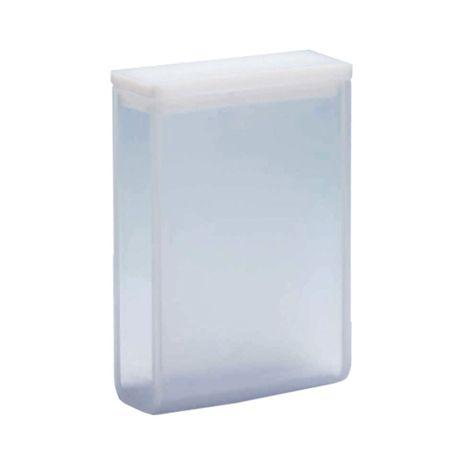 Cubeta em Quartzo ES 2 Faces Polidas Passo 30MM 10,5ml - Fundo Arredondado