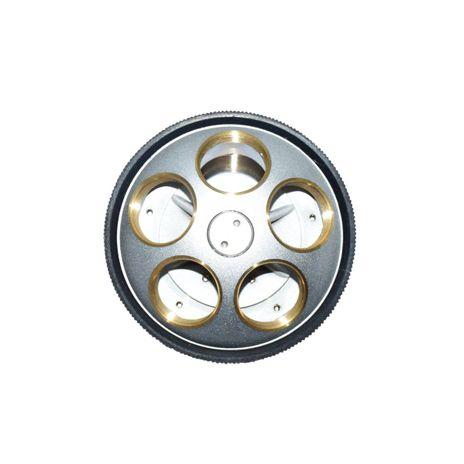 Revólver Reverso Quintuplo para Microscópios Modelos NO216 e NO226