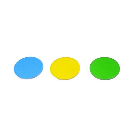 Jogo Com Filtros Amarelo, Verde e Azul