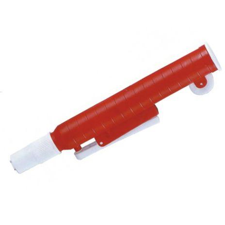 Aspirador Para Pipetas de 20ml e 25ml - Vermelho