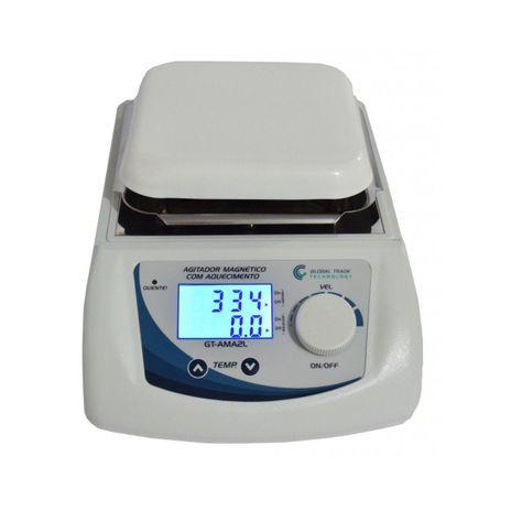 Agitador Magnetico - Digital com Aquecimento 0-2500rpm 2L - 110V