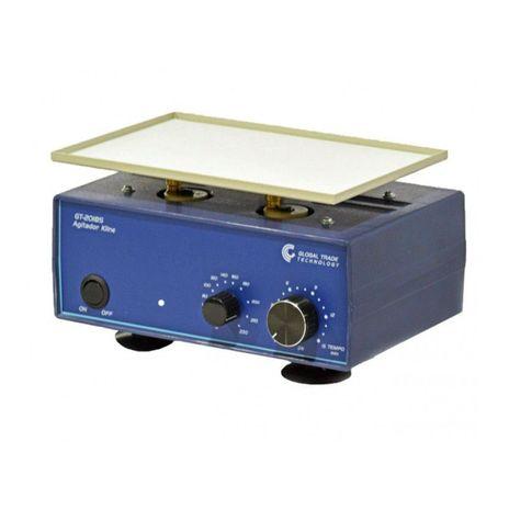 Agitador Kline\Vdrl - 0-230rpm Cap. 1,8Kg 5-100ml - 220v