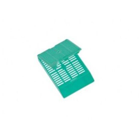 Cassete Histológico para Biópsia- PCT 250und - Verde