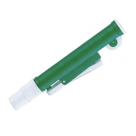 Aspirador Para Pipetas de 5ml e 10ml - Verde