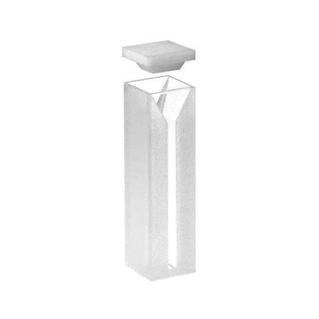 Cubeta Em Vidro Óptico 2 Faces Polidas Passo 10MM 1,0ml