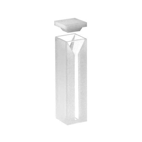 Cubeta Em Vidro Óptico 2 Faces Polidas Passo 10MM 0,7ml