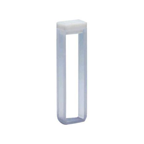 Cubeta Em Vidro Óptico 2 Faces Polidas Passo 5MM 1,5ml - Fundo Arredondado