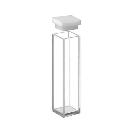 Cubeta Em Vidro Óptico 4 Faces Polidas Passo 10MM 3,5ml