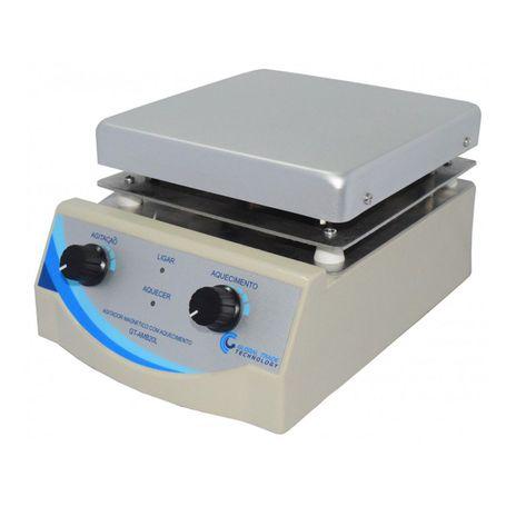 Agitador Magnetico - com Aquecimento 0-2000rpm 20L - 110v